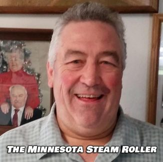 Here is The Minnesota Steam Roller himself. Listen to Taylor's interview with him in the below video.