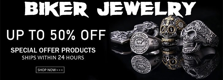 Shop For The Coolest Biker Jewelry /