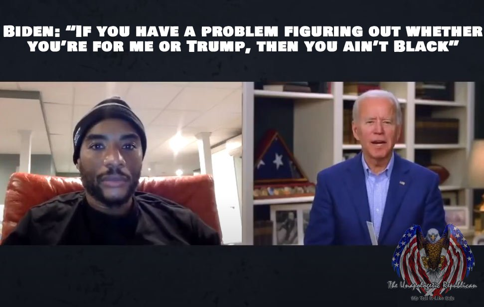 In an interview released today, Joe Biden made a racist gaffe that I don't think he'll be able to recover from.