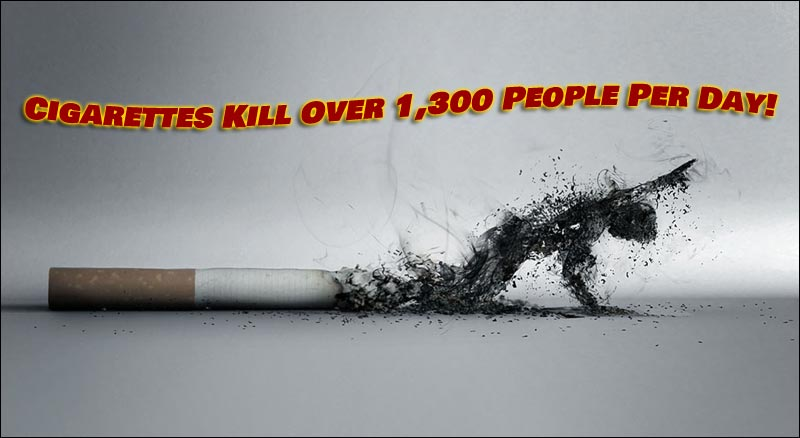 More people will die this year from cigarette smoke, than from the Coronavirus.