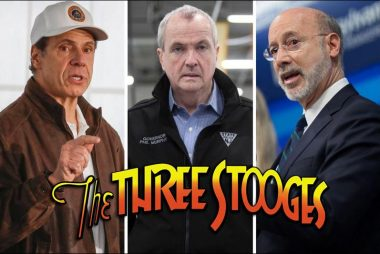 Larry, Moe and Curly - Democratic Governors Andrew Cuomo (NY), Phil Murphy (NJ), and Tom Wolf (PA)