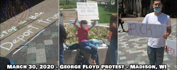 More George Floyd protesters that were at Madison, WI