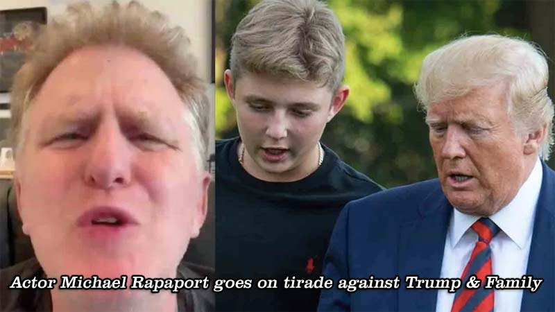 Michael Rapaport needs to have his mouth washed out with soap! Where's his mom when you need her to smack some sense into him??