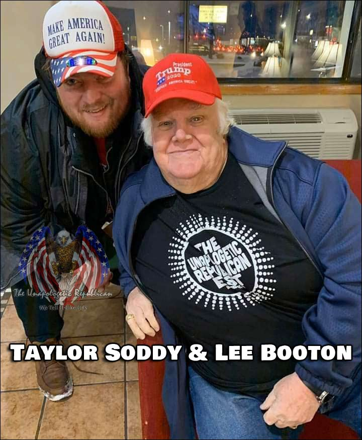 The Unapologetic Republican Founder & Owner Taylor Soddy with Lee Booton.
