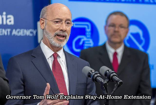 Pennsylvania's Governor Tom Wolf Explains Why He's Extending His Stay-At-Home Order.