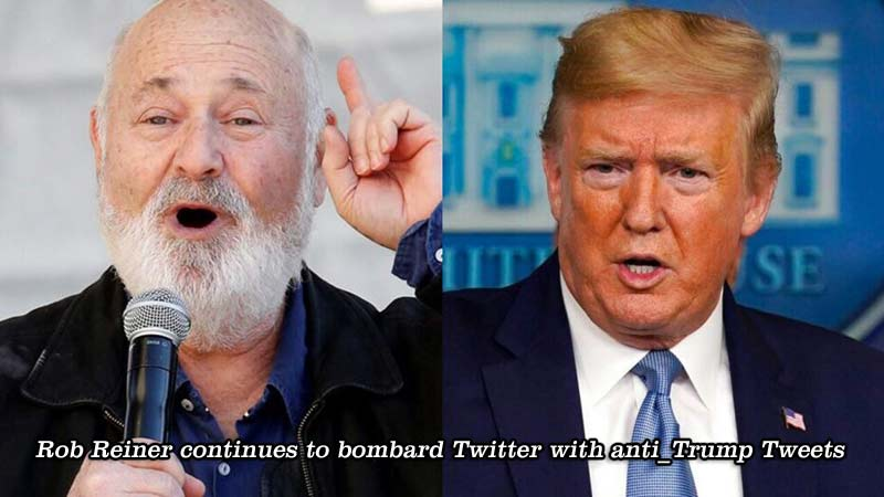 Rob Reiner has not stopped attacking Trump, even when he wasn't even President yet, see below.