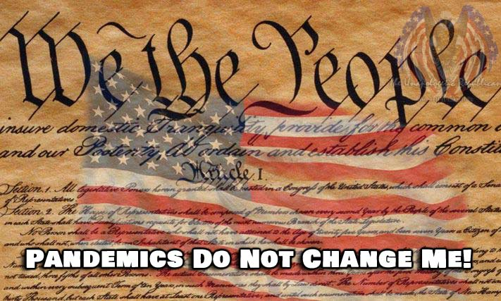 FACT : The United States Constitution does not change because of a pandemic.