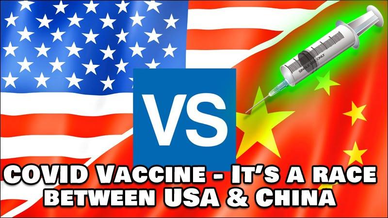 COVID Vaccine - Race between America's Moderna and China's Sinovac