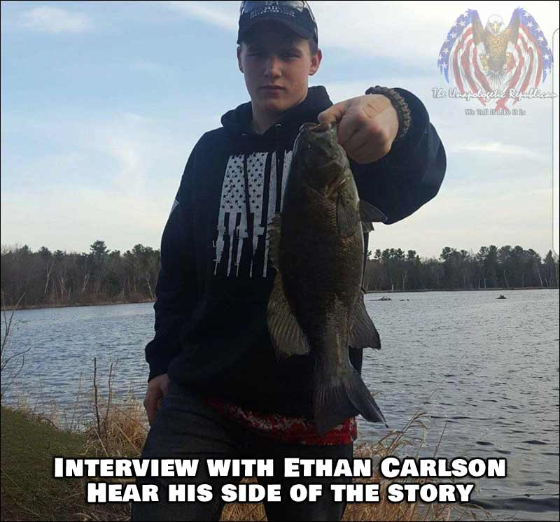 """Stevens Point, Wisconsin - """"All Lives Matter"""" turns 'Peaceful' Protest Violent - Hear Ethan Carlson's side of the story."""
