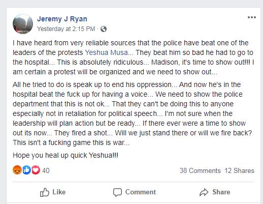 Original Post about Yeshua Musa by Jeremy J Ryan