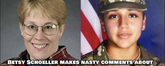 Betsy Schoeller Makes Nasty Comment About US Army soldier Vanessa Guillen's Murder