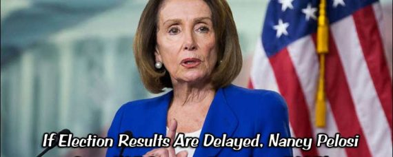 Nancy Pelosi Does Not Become President if Election is Delayed