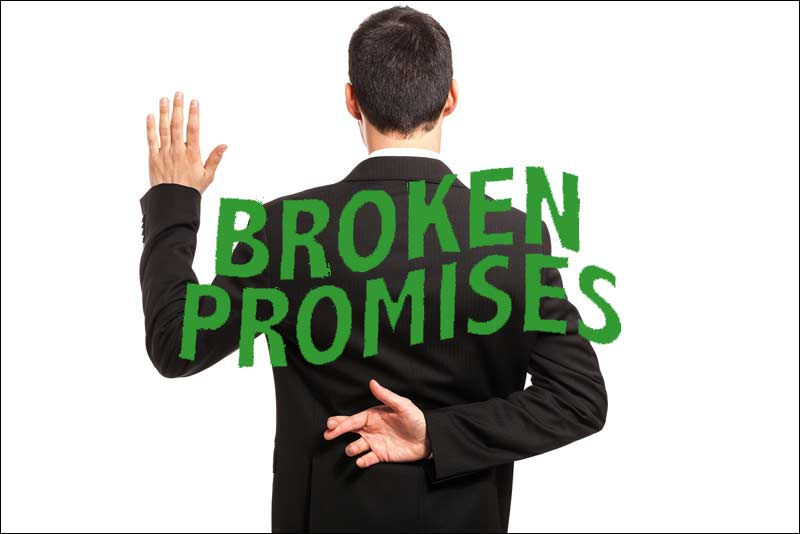 The Cost of Socialism and Other Government Programs; Broken Promises