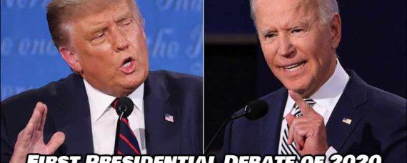 First Presidential Debate of 2020