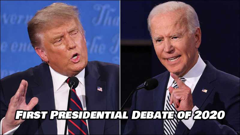First Presidential Debate of 2020