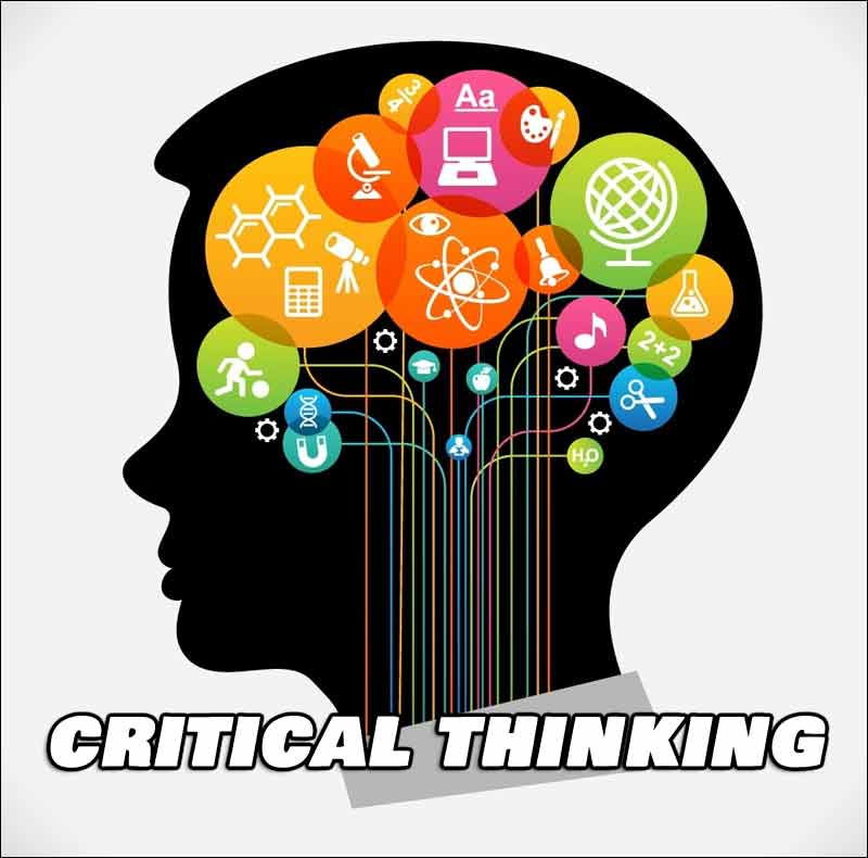 We must stop allowing our schools to brainwash our children and to start teaching critical thinking again.