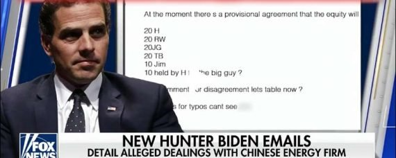 Hunter Biden's Laptop emails have been authenticated. Time for Joe Biden to Pay The Piper.