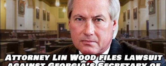 Attorney Lin Wood Sues Georgia's Sec of State, Says New Election is Required