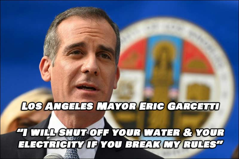 Draconian Measures Taken By Los Angeles Mayor For Thanksgiving