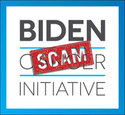 'Biden Cancer Initiative' Spends ZERO on Cancer Research