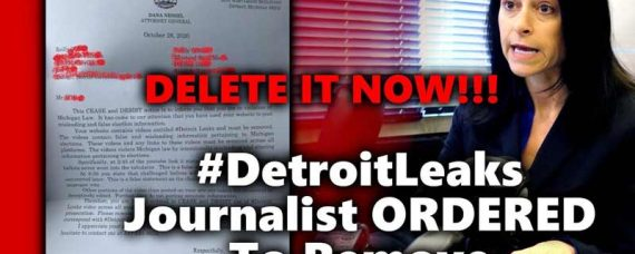 Detroit Journalist Threatened with Criminal Prosecution for Exposing Voter Fraud