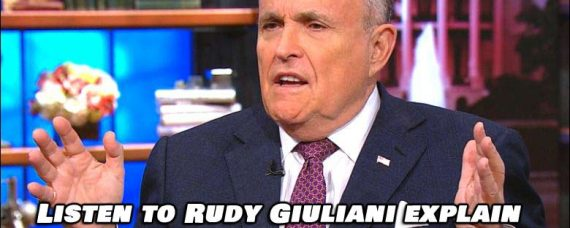 Interview with Rudy Giuliani Explaining How The Left Cheated. Must Watch!