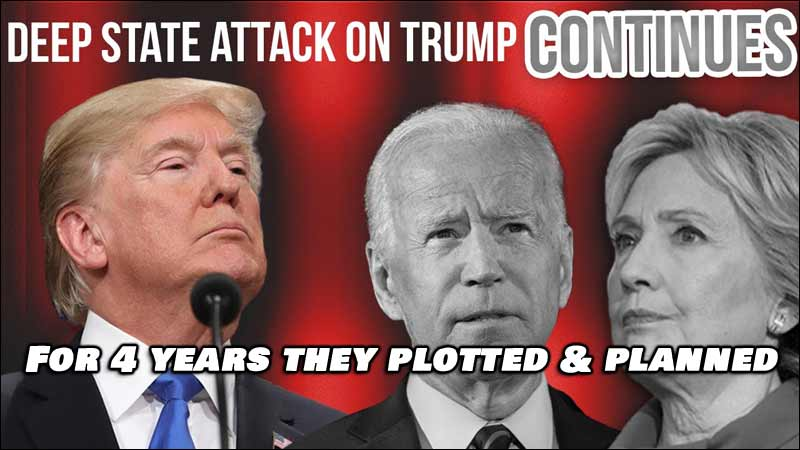How The Left Has Plotted and Planned for Four Years to Remove Trump.