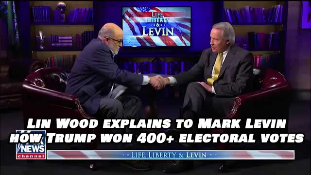 Lawyer Lin Wood Estimates Trump Will End Up With Over 400 Electoral Votes