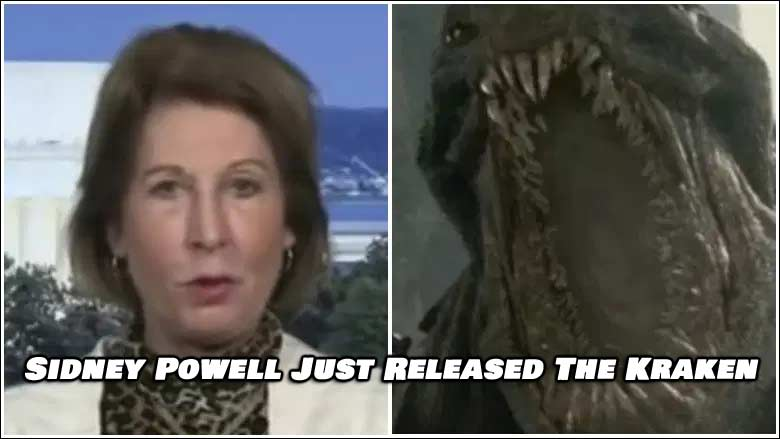 Trump Attorney Sidney Powell Releases The Kraken. Election Will Flip and Heads Will Roll