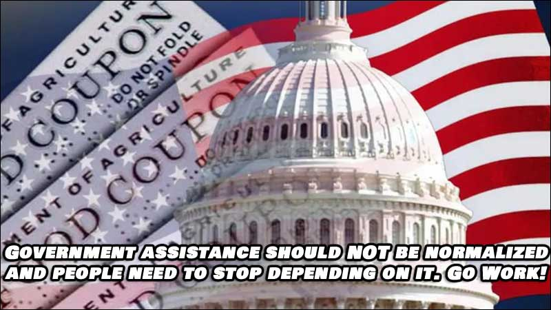 It's Time We Stop Normalizing Government Assistance