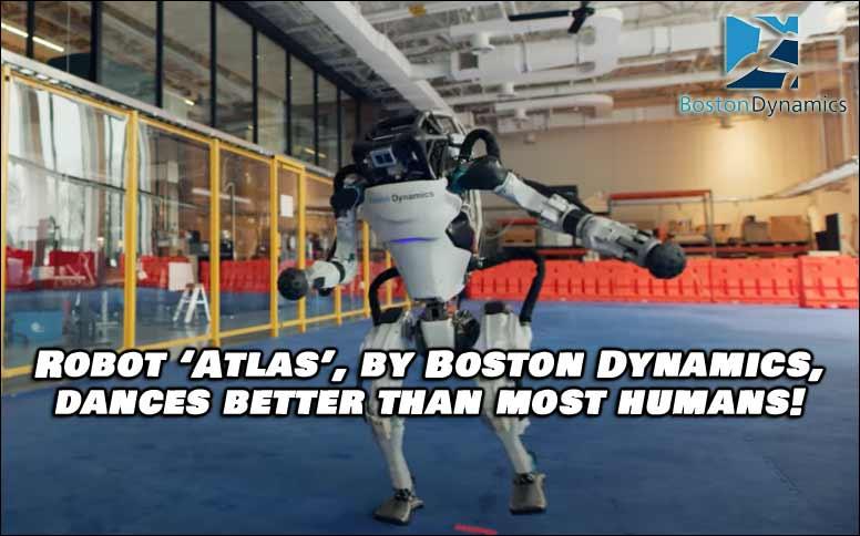 Boston Dynamics Robot Dances Better Than Most Humans, Watch Video Below.
