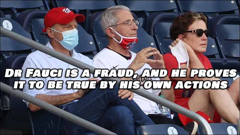 Dr Fauci is a FRAUD and Here's the VIDEO PROOF You Need