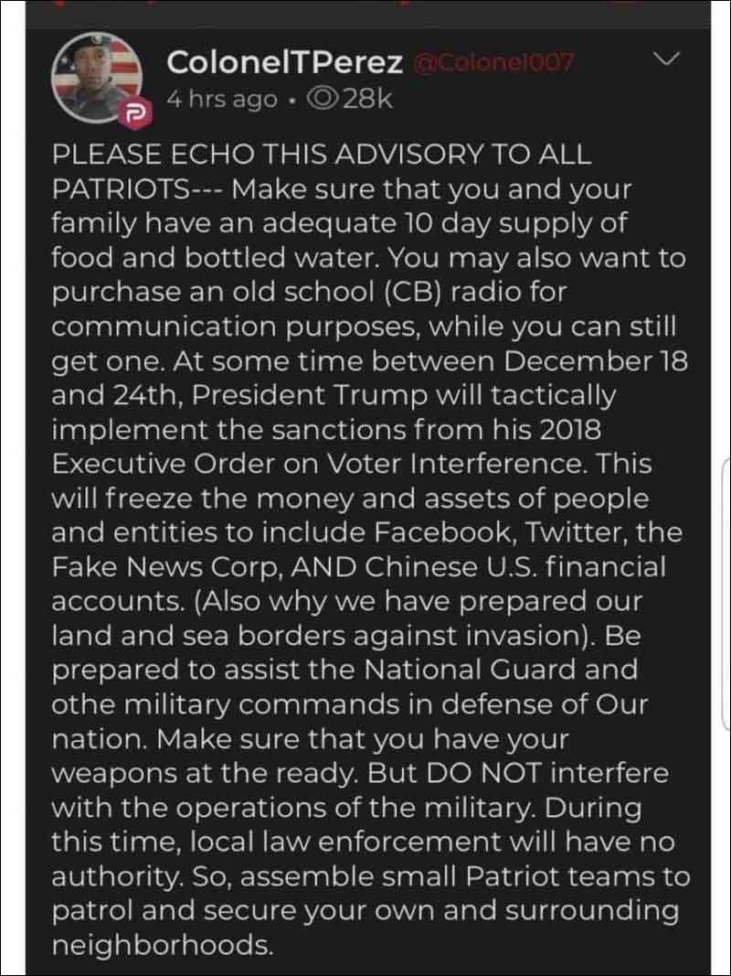 What's Next? Are We Headed For Martial Law?? Are Military Tribunals coming? (Click for full size)