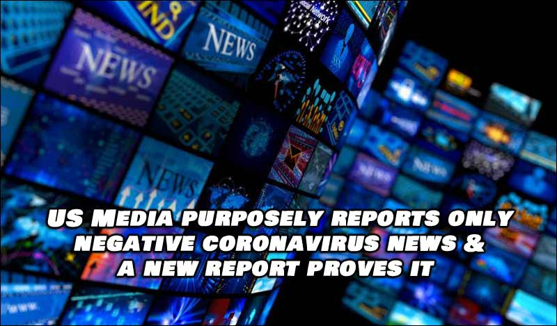 US Media Purposely Covers Covid-19 Negatively, 5 Times More Than Other Countries