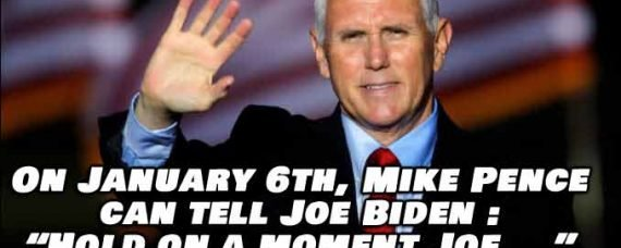 Congressional Republicans Sue VP Mike Pence To Stop Biden's Jan. 6th Victory