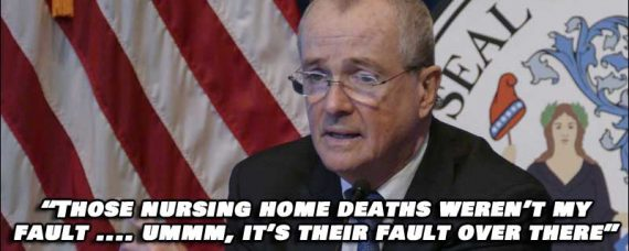NJ Governor Phil Murphy Responsible For The WORST death rate of ANY Veterans Care Facility in the Country.