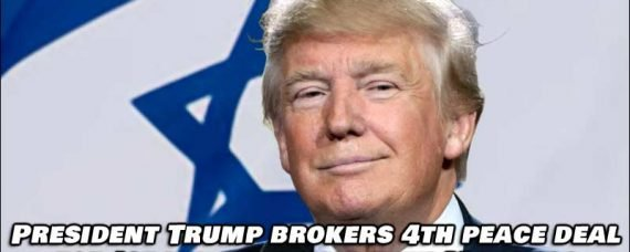 Trump Brokers 4th Peace Deal For Israel, This Time with Morocco