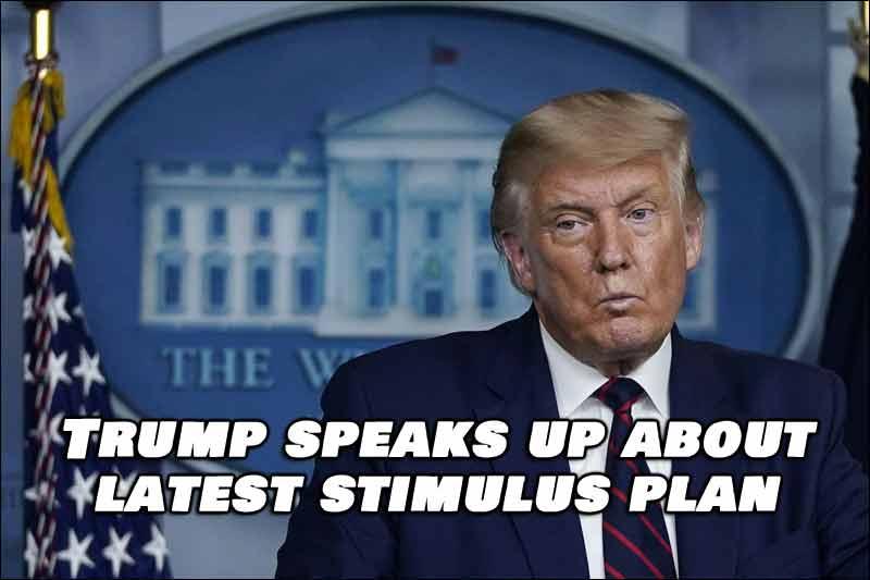 President Donald Trump absolutely balked at a coronavirus stimulus bill on Tuesday evening.