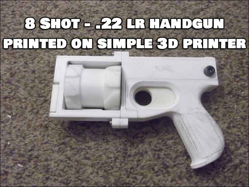 This Guy 3D Printed His Own 8 Shot Revolver ... And Legally Registered it!