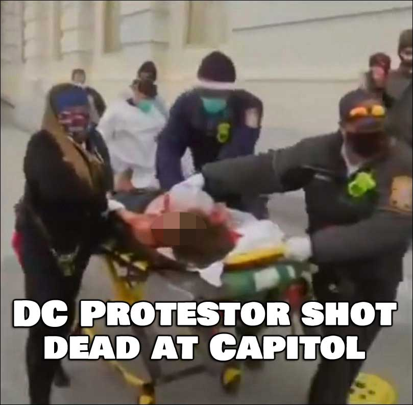 DC Protester Shot at Capitol Just Died