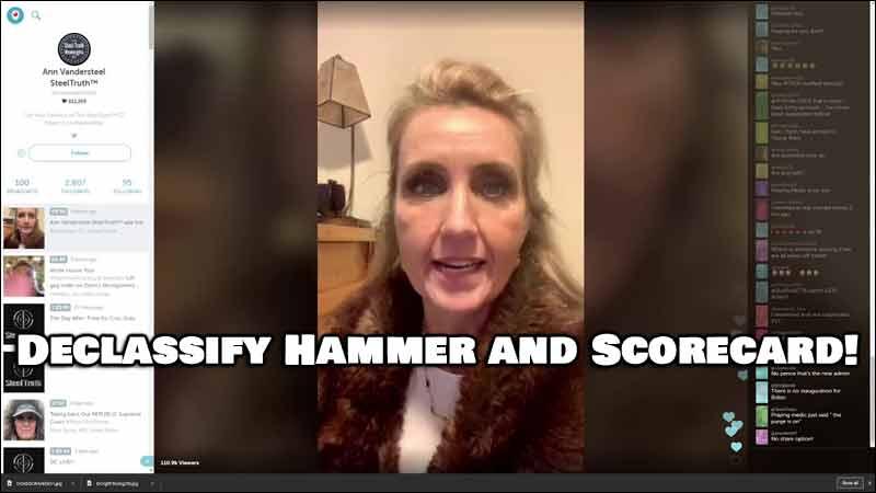 Declassify Hammer and Scorecard - HUGE NEWS