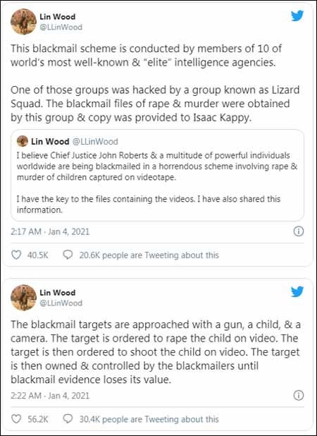 More Tweets from Lin Wood