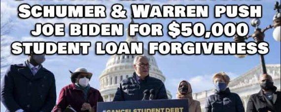 Student Loan Debt $50K? No Problem Says President Biden, It's Forgiven
