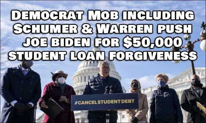 Student Loan Debt $50K? No Problem Says President Biden, It's Forgiven