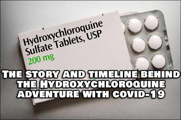 Timeline and Story Behind The Hydroxychloroquine Adventure