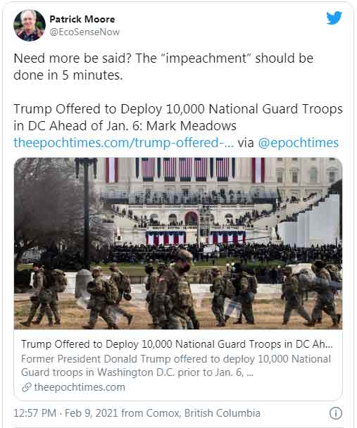 President Trump requested 10,000 Troops to DC before Jan 6th, DoD DENIED!