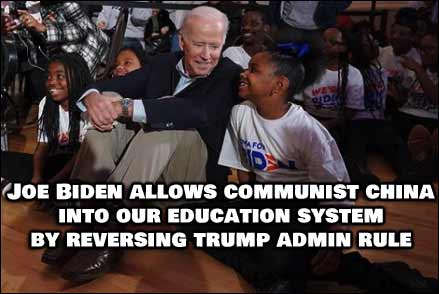 Biden Allows CCP To Have Full Access To Young American Students