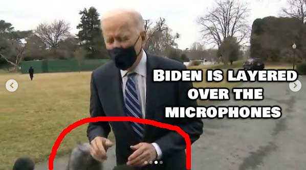 Look at Biden's hands! This video was FAKED!