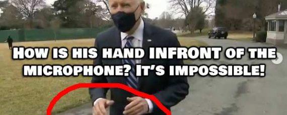 Is Joe Biden Being Filmed Using a Green Screen? .. WTH is going on??
