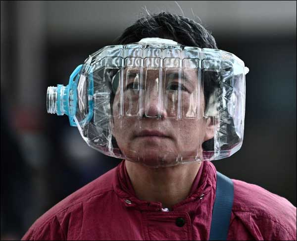 Brainwashed Mask Wearers Take Extreme Ridiculous Measures